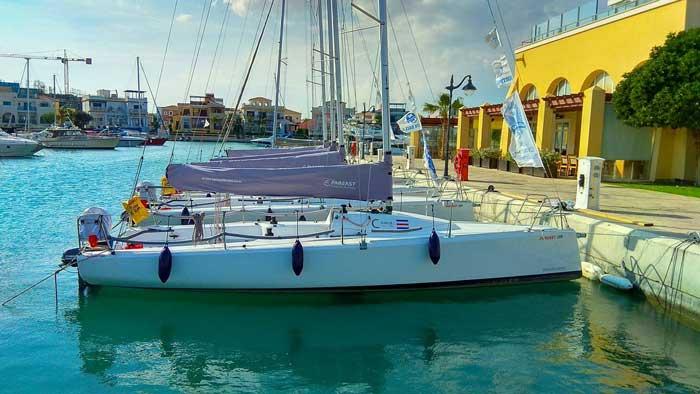 квест на яхте на Кипре