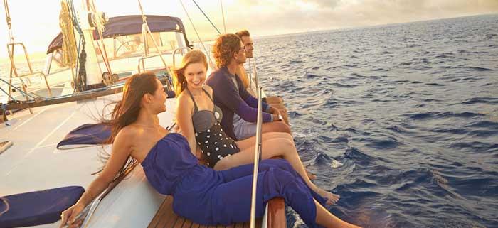 тимбилдинг на яхтах на Кипре