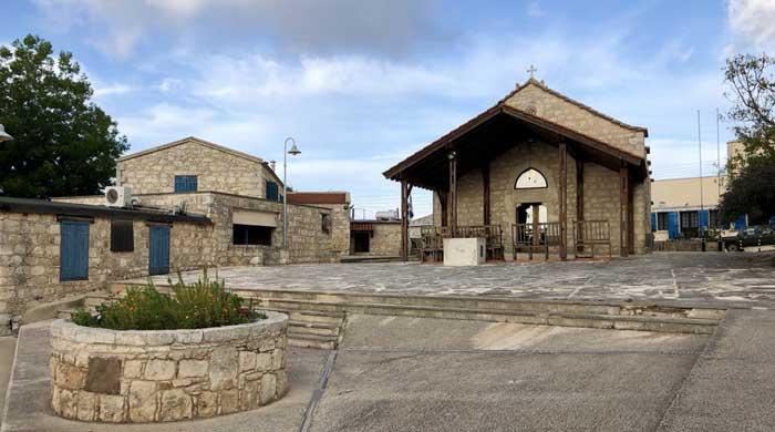 деревня Друша на Кипре храм Эпифания