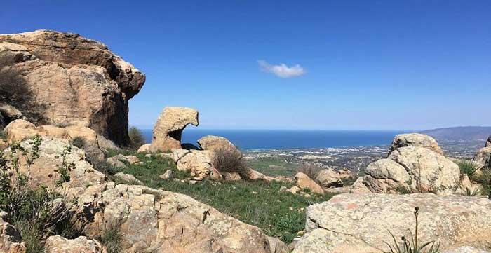 деревня Друша на Кипре