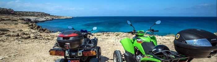 Экскурсии на Каво Греко квадроциклы