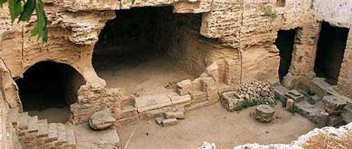 экскурсии катакомбы Святой Соломонии Пафос