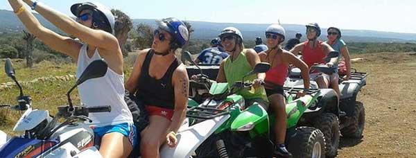 Пафос экскурсии на квадроциклах