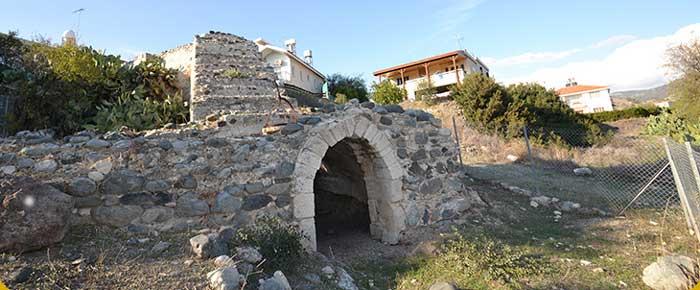 мельница в деревне Пиргос Лимассол