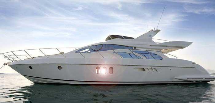 аренда яхты на Кипре azimut 55