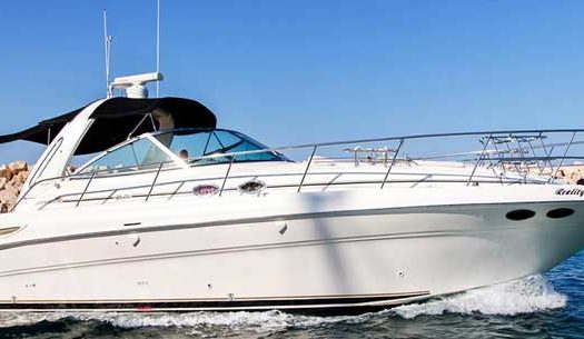 Аренда яхты на Кипре sea ray 455