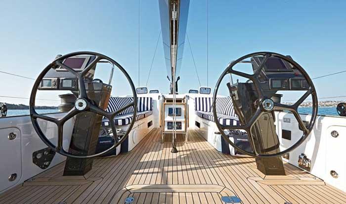 Чартер парусной яхты в Лимассоле shipman 63
