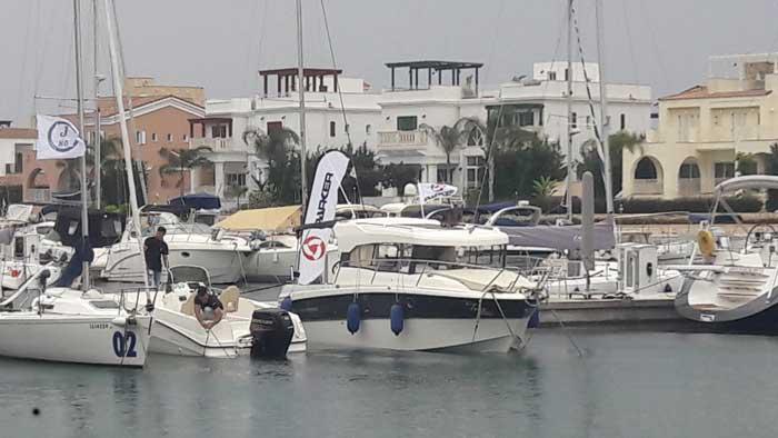 Кипр аренда яхты Паркер в Лимассоле