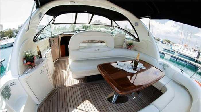 снять катер в Ларнаке sea ray 455