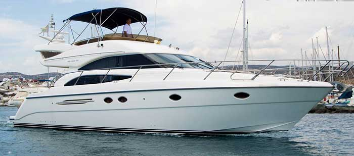 аренда яхты в Ларнаке Princes 50 Кипр