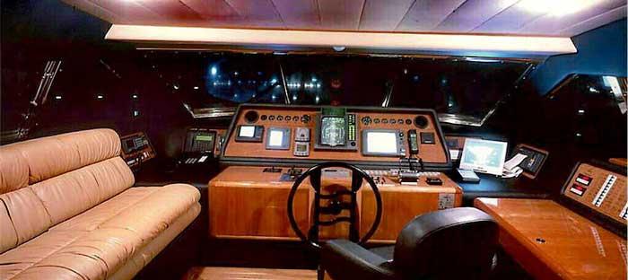 Аренда элитной яхты на Кипре Ferretti 810