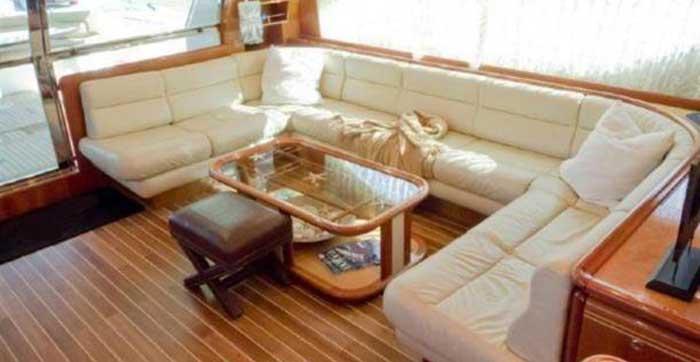Аренда яхты на Кипре Ferretti 810 Протарас