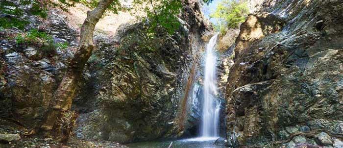 экскурсии на Кипре с частным гидом на водопад Каледония