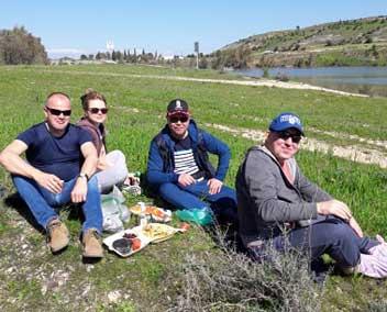 Пикник на рыбалке на Кипре