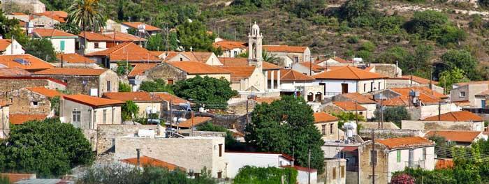 Деревня Арсос Кипр