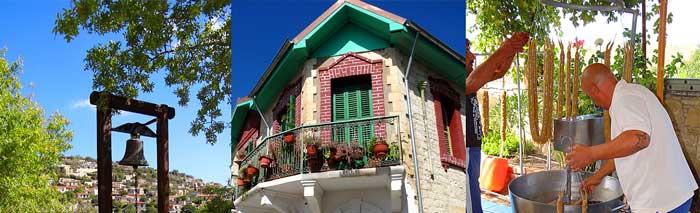 Описание деревни Арсос на Кипре