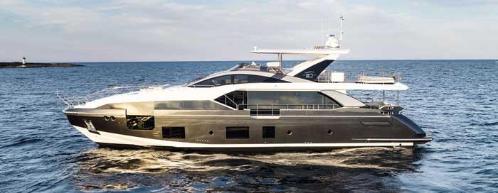 Яхты Azimut продажа на Кипре