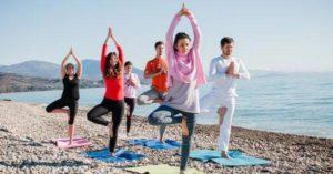 йога детский лагерь Кипр
