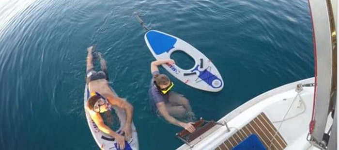 Аренда яхты с вейкбордингом на Кипре