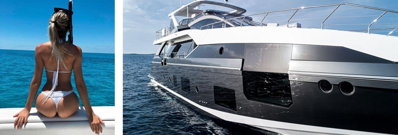 развлечения на яхтах на Кипре