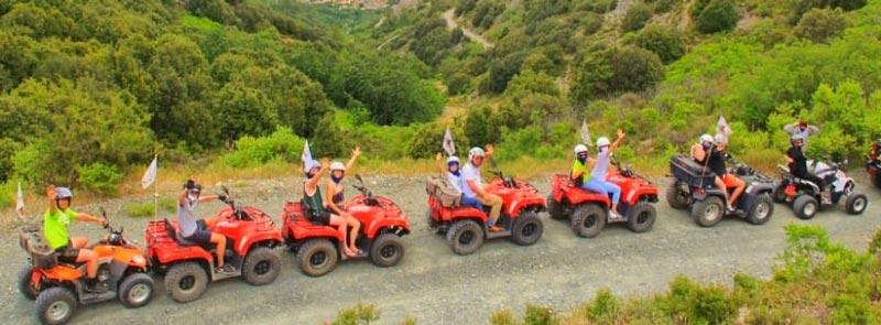 Кипр тимбилдинг на квадроциклах