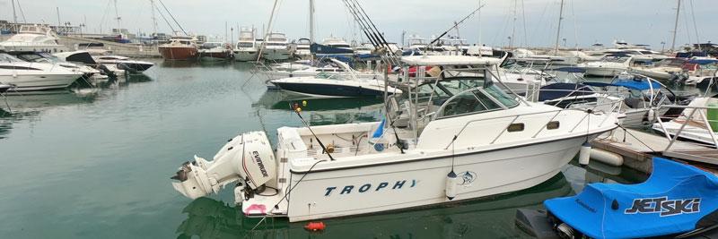 Аренда катера для рыбалки Кипр