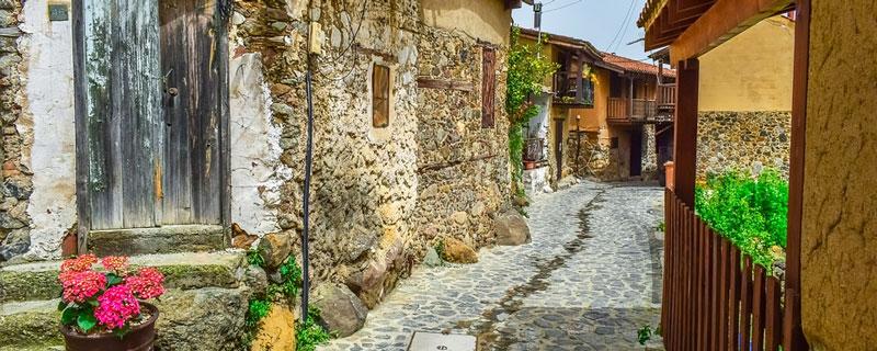 Деревня Какопетрия
