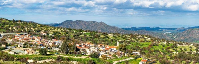 Кипр самые красивые деревни