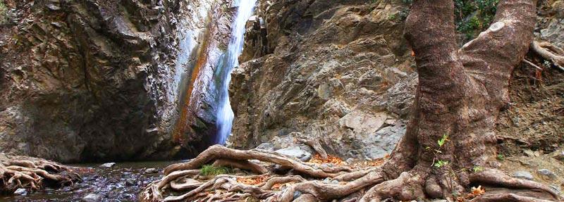 Кипрские деревни с водопадами