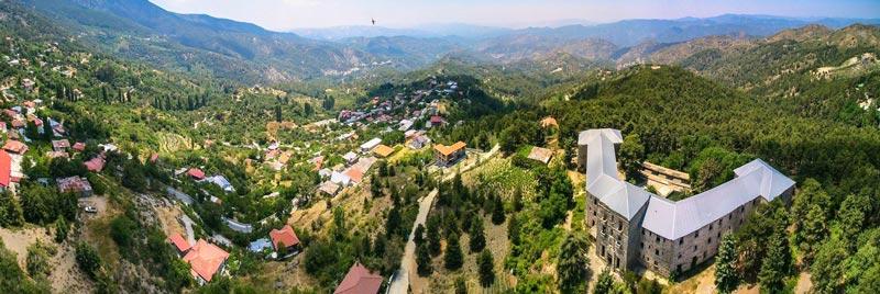 Необычные деревни Кипра