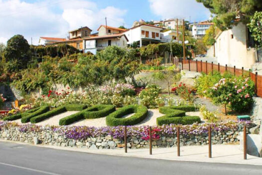 Деревня Агрос Кипр